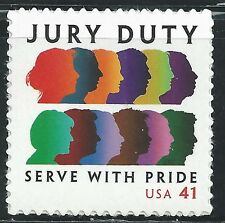 4200 Jury Duty US Single Mint/nh (FREE shipping offer)