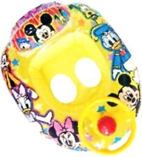 Mickey Mouse Swimming Inflatable Float Boat Swim Seat Ring Tube Ride On Baby Kid