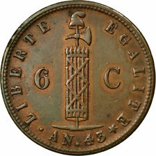 [#482951] Coin, Haiti, 6 Centimes, 1846, AU(50-53), Copper, KM:28