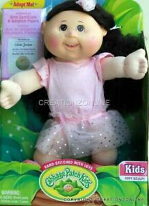 Celeste Jordan December 12 Cabbage Patch Doll 35 cms + Birth Cert Adoption Paper