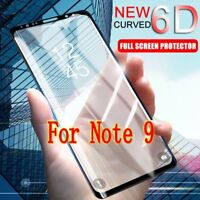 For Samsung Galaxy Note 9 Curved HQ Full Cover Tempered Glass Screen Protector