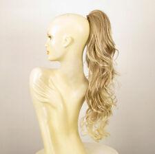 Hairpiece ponytail long wavy light blond wick very light blon 25.59 ref 6/15t613