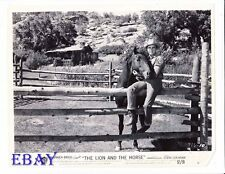 Steve Cochran sexy cowboy VINTAGE Photo The Lion And The Horse
