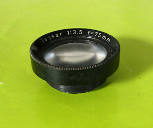 Rolleiflex T TLR Camera's Tessar Front Taking Lens Cell Only-Genuine OEM Parts
