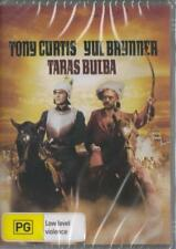 TARAS BULBA - YUL BRYNNER & TONY CURTIS - DVD  FREE LOCAL POST