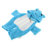 Lovely Hooded Rompers Pajama Blue Jumpsuit For Mellchan Baby Doll Clothes