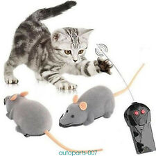 Remote Control Rat Mouse Toy For Cat Kitten Dog Pet Novelty Gift Portable 6color