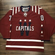 Reebok Washington Capitals Braden Holtby 2015 Winter Classic NHL Hockey Jersey L