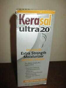 (1) Kerasal ultra20 Extra Strength Moisturizer Foot Cream Daytime Therapy - 2 oz