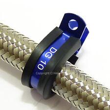 36MM Cojín Azul Manguera De Goma Tubo P Clip Pinza Soporte de Filtro de aceite combustible bomba