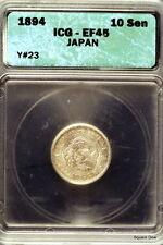 1894 ICG XF45 Y-23 Japan Ten Sen!! #E0863
