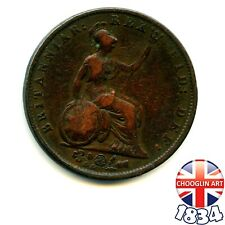 More details for a british copper 1834 william iv halfpenny ½d coin       (re: 1834_016/7)