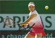 TENNIS: SHUAI PENG SIGNED 6x4 ACTION PHOTO+COA *WIMBLEDON*