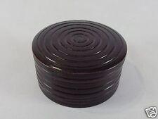 Japanese antique vintage lacquer wood Chanoyu Kogo incense case box chacha