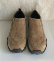 GBX Mens Trail Guard Taupe Size 10.5 M Suede Climber Slip On Comfort Shoes