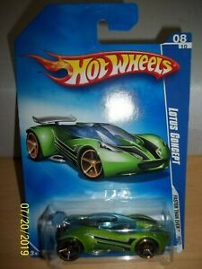 2009 Hot Wheels - Faster Than Ever Model - Lotus Concept