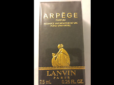 Arpege by Lanvin Pure Parfum / Perfume .25oz 1/4fl.oz 7.5ml Purse Spray Refill
