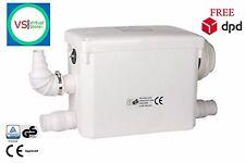 SteriFlux ® Macerator Sanitary Pump 3/1 Hung Toilet WC Best Sanipack Alternative