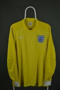 England Goalkeeper shirt World Cup 2010-2012 jersey mens long sleeve Sz 46
