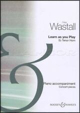 Learn As You Play Eb Tenor Horn Piano Accompaniment Music Book Concert Pieces