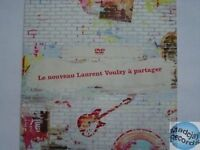 LAURENT VOULZY ROCKOLLECTION DVD PROMO no cd