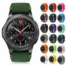 Luxury Fashion Sport Silicone Band Strap Bracelets For Samsung Gear S3 Frontier