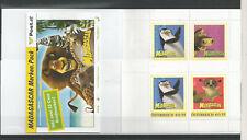 Österreich PM personalisierte Marken 3 Briefmarkenheftchen MADAGASCAR **