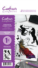 Crafters Companion May Enchanted Collection A6 Unmounted Rubber STAMPS Choice Unicorn Magic