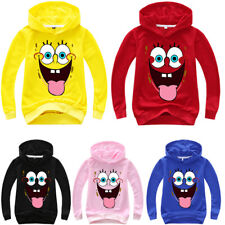 Kid Boy Girl Hoodie Sweatshirt Hooded Casual Pullover Clothes Jumper T-shirt Top
