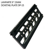 """Lanparte 9"""" 15mm DP-15 Dovetail Plate for DB01 Rig Baseplate Rail Rod SLR Camera"""