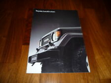 Toyota Landcruiser Prospekt 06/1986