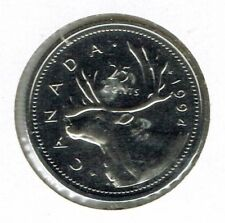 1994 Canada Carabou Proof Like 25C coin!