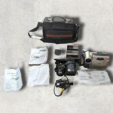 Sharp VL-A10H Viewcam 8 Video Camcorder 1 Spare Battery 2 Cassettes Bag