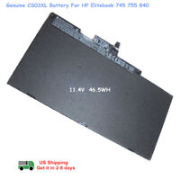 Genuine Battery CS03XL HP EliteBook 745 755 840 G3 G4 ZBook 15u G3 800231-141