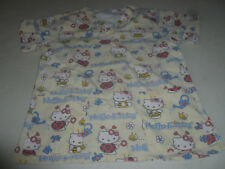 HELLO KITTY SANRIO SCRUBS SCRUB TOP S.C.R.U.B.S. LADYBUG BUMBLE BEE S YELLOW