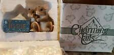 Charming Tails figurine mouse Fitz Floyd I'm here for you tissue