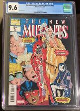 New Mutants #98 CGC 9.6 Facsimile Edition 1st Deadpool 2019 Reprint