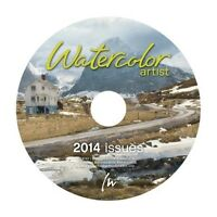 Watercolor Artist Magazine 2014 Annual CD 6-Issues
