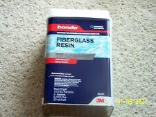 New listing 3M Bondo® Fiberglass Resin, 20124, 0.9 Gallon - 100% Waterproof - 2 Hardeners