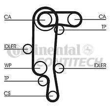 ContiTech CT957WP1 Timing Belt Kit