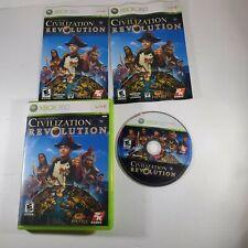 Sid Meier's Civilization Revolution (Microsoft Xbox 360, 2008) - Tested Complete