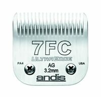 Andis Carbon-Infused Steel UltraEdge Dog Clipper Blade, Size-7FC, 1/8-Inch Cut