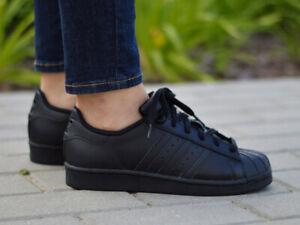 Baskets noirs adidas pour femme adidas Superstar | eBay