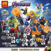 Bausteine Filmfigur Superheld Minifigur Thanos Hulk War Machine Modell DIY 16PCS