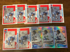 L1125 - LAWRENCE TAYLOR - LOT OF 10 FOOTBALL CARDS - GIANTS -
