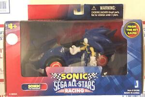"Jazwares Sonic the Hedgehog 3"" Inch All Stars Racing Action Figure NIB Rare Car"