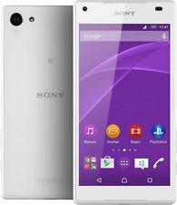 Blanco Sony Xperia Z5 E6653 5.2' 32GB 32MP 4G LTE Octa-Core Libre Móvil Telefono