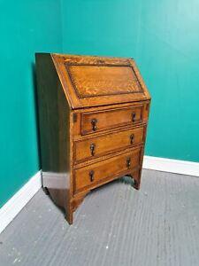 An Antique mid 20th Century Oak Bureau Desk ~Delivery Available~
