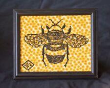 Yellow Linocut Art Prints
