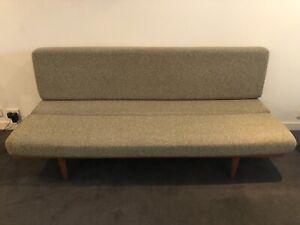 Mid Century Modern Teak Daybed / Three - Seat Sofa
